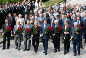 У памятника Шевченко