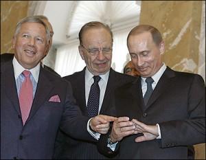 Путин и Крафт