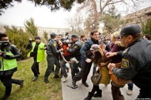 Азербайджанские полицейские