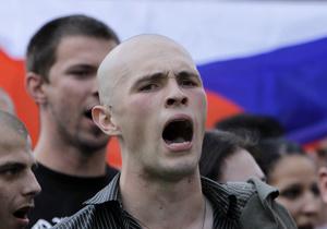 Антицыганский марш в Чехии