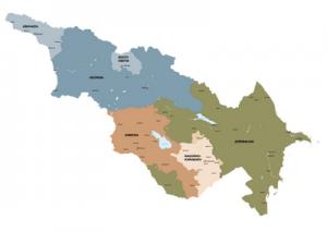 Карта Кавказа