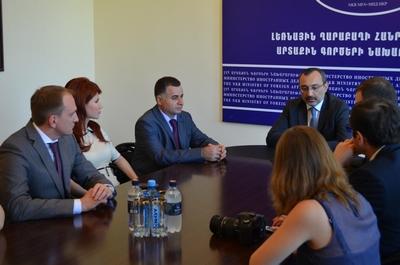 Российские журналисты в Карабахе