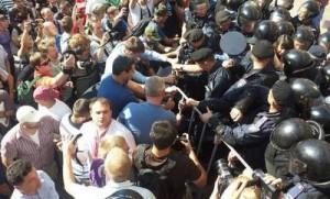 Во время штурма Киевсовета