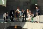 российские общественные деятели посетили Мемориал жертвам Геноцида армян