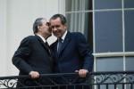 Leonid Brehnev and Richard Nixon