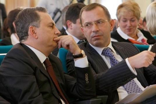 Борис Колесников и Андрей Клюев