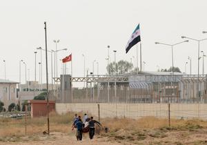 Граница Сирии и Турции
