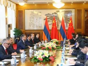 Китай и Армения