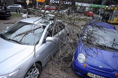 На Киев надвигается ураган