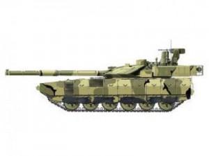 Новый российский танк Армата