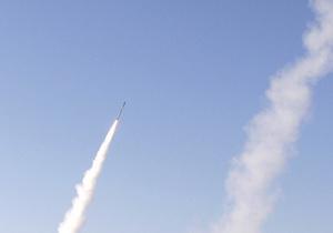 Ракеты упали за 300 км от берега