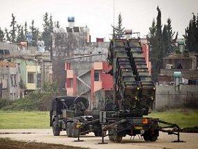 Турция на границе с Сирией