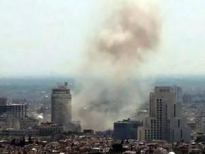 В Дамаске смертник взорвал себя