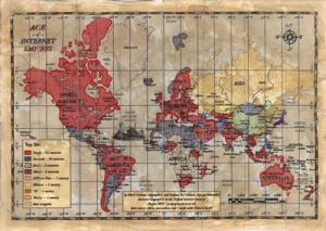 Карта интернета