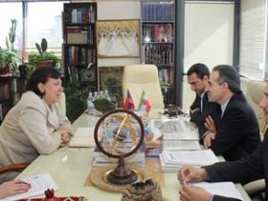 Министр диаспоры Армении и посол Ирана