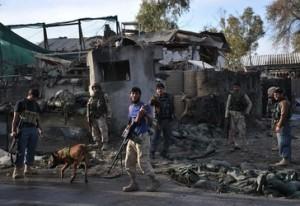 НАТО ударило по Афганистану