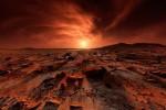 На марсианской земле