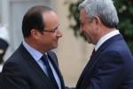 Серж Саргсян и Франсуа Олланд