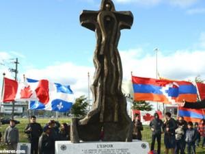 В Канаде открыт мемориал памяти жертв Геноцида армян
