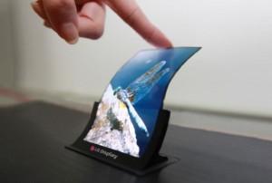 выпуск гибких экранов
