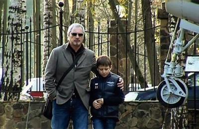 Валерий Меладзе с сыном
