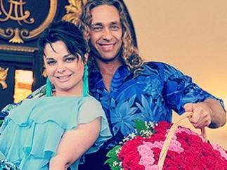 Наташа Королева с мужем