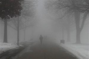 туман и гололедица
