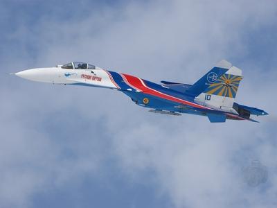 Русские витязи впервые пролетят над