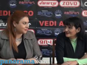 Армине Адибекян и Анжела Элибегова