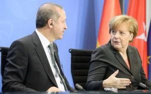 Эрдоган Меркель