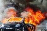 сгорел авто
