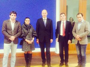 Делегация молодежного крыла Республиканской партии Армении