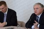 Главы МИД Армении и Латвии