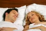 Расстояние между супругами во время сна