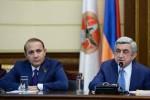 Серж Саргсян и Овик Абрамян