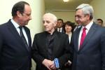 Президенты Армении и Франции