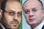 Сейран Оганян и Хосейн Дехган