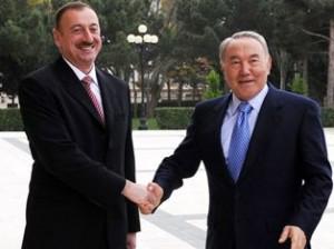 Алиев и Назарбаев