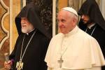Арам I и Папа Римский