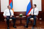 Премьеры Армении и России