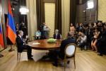 На встрече в Сочи президенты Армении, России и Азербайджана констатировали необходимость мирного решения карабахского конфликта