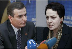 Артак Закарян и Лариса Алавердян