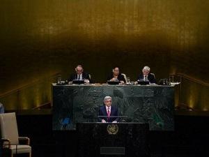 Саргсян в ООН