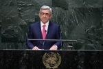 Серж Саргсян в ООН