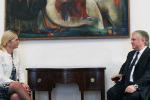 Глава МИД Армении и посол Словении