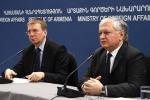 Главы МИД Латвии и Армении