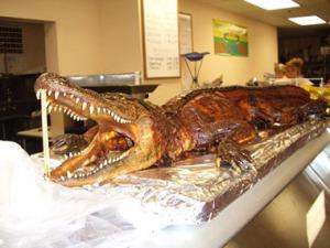 Копченые крокодилы