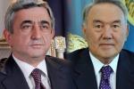 Президенты Армении и Казахстана