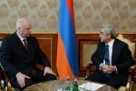 Александр Бастрыкин и Серж Саргсян