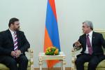 Президент Армении и посол Чехии
